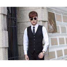 Giảm giá Hàng cao cấp – Áo Gile nam phong cách Hàn Quốc GL05