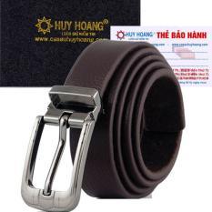 HL5128 – Thắt lưng nữ da thật Huy Hoàng màu nâu
