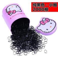 Hộp chun buộc tóc loại dây nhỏ cho bé gái siêu rẻ siêu Hot (sắc màu)