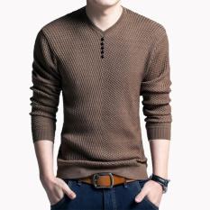 Vào mùa thu năm 2017 mới áo len nam áo len Nam áo len Nam Dài Tay-quốc tế