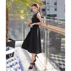 Jumpsuit quần váy Misa Fashion MS255 / Đen (Có size lớn)