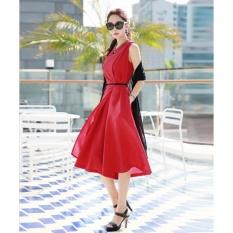 Jumpsuit quần váy Misa Fashion MS255 / Đỏ
