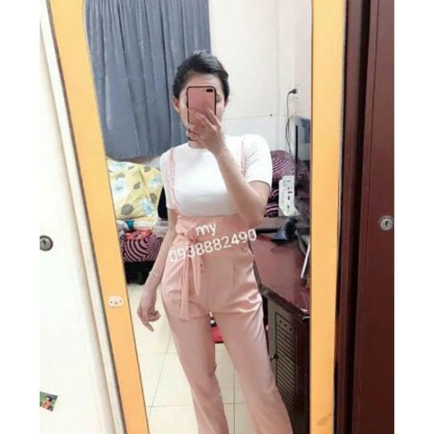 Jumpsuit yếm kèm áo mẫu mới