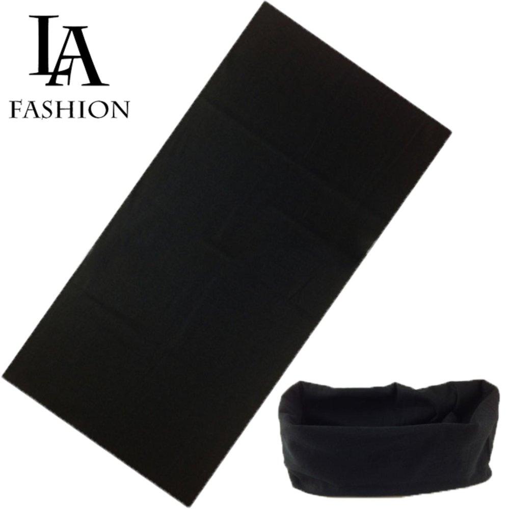 Chi tiết sản phẩm Khăn đa năng nữ thể thao dành cho phượt thủ – Chất liệu sợi siêu mịn polyester – Kích thước 25×48 cm ZAVANS (Đen)