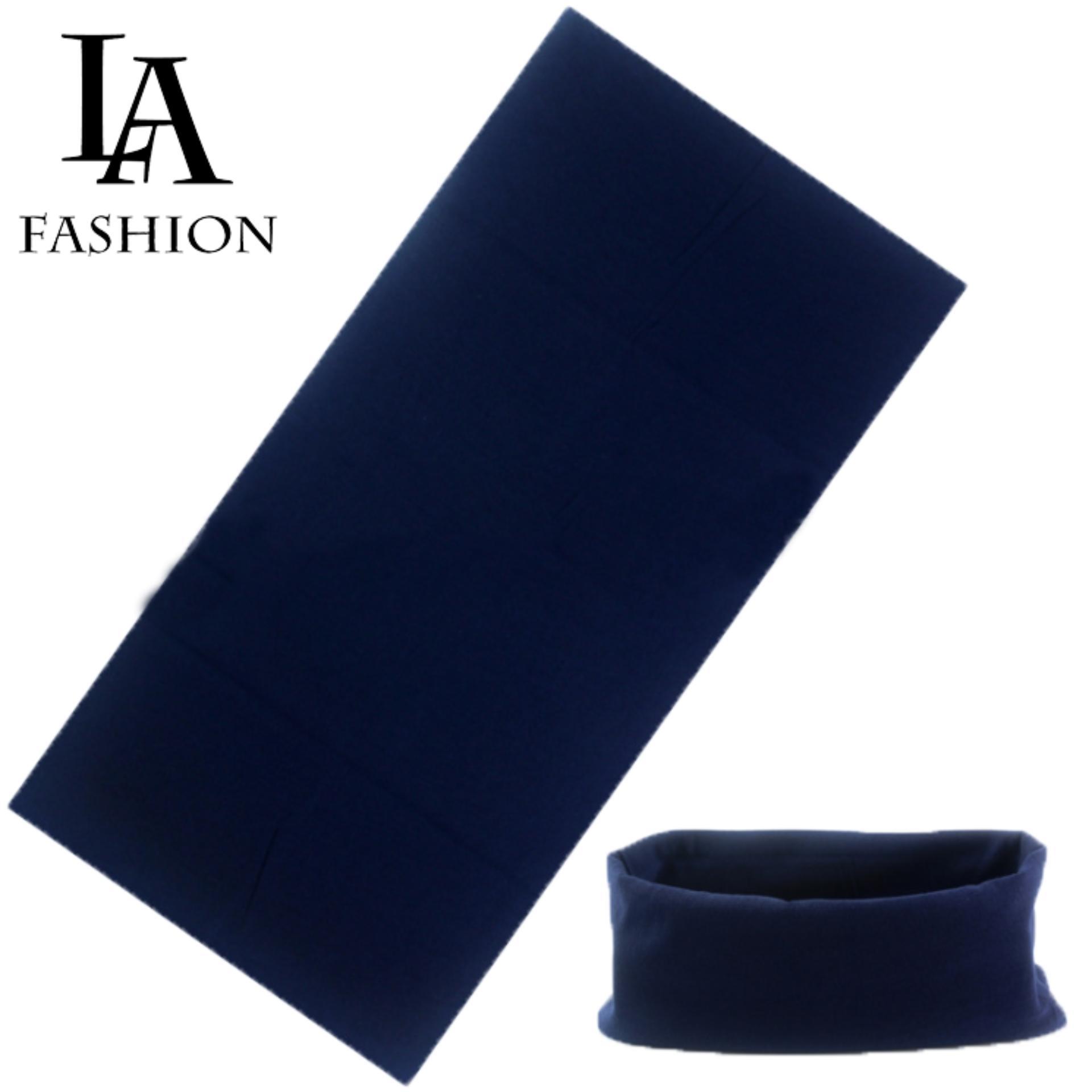 Khăn đa năng nữ thể thao dành cho phượt thủ – Chất liệu sợi siêu mịn polyester – Kích thước 25×48 cm ZAVANS (Xanh than).