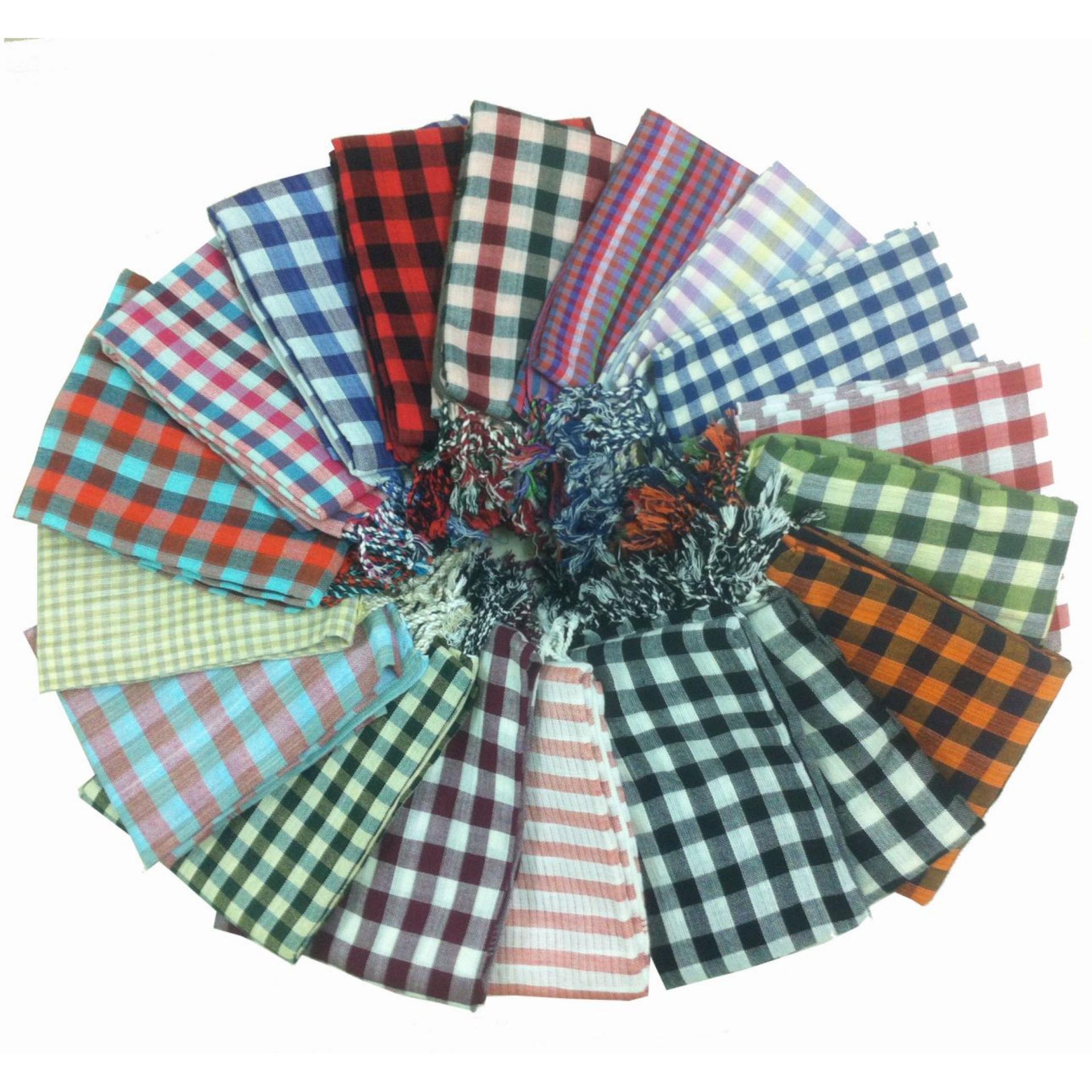Khăn Rằn Campuchia Đi Phượt(màu sắc chọn ngẫu nhiên khi giao)