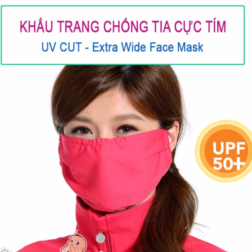 Giá KM Khẩu trang chống tia UV bảo vệ da