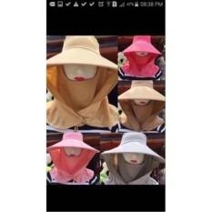 Khẩu trang nón chống nắng trơn – Kmart
