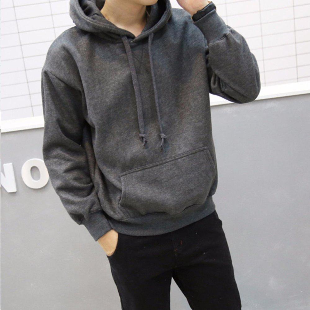 Khoác hoodie nam trơn – KB148