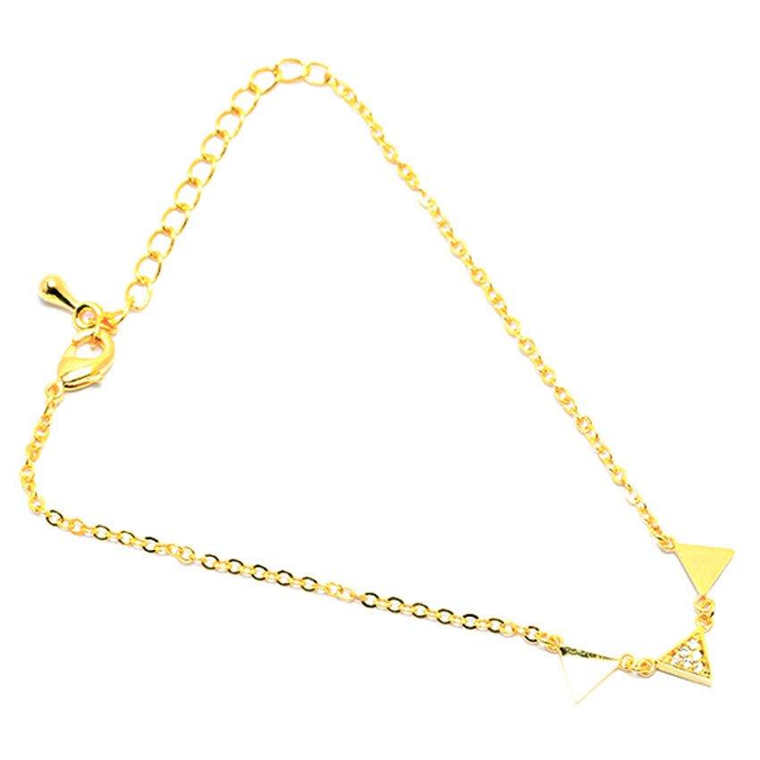 Lắc chân tam giác DS-424 (Vàng)