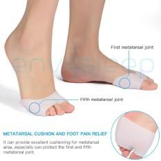 Lót chân silicon ENVYSLEEP loại hở ngón chống chai ngón, giảm đau ngón cái & út khi mang giày, nam nữ đều xài, size 37->45