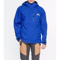 men's water proof jacket/ Áo khoác chống thấm nước nam (Đen kéo cam)