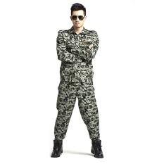 Moonar Men Jungle Camouflage Multicam Suits Combat Outfit Uniforms CS Sets ( #3 ) – intl