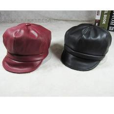 Mũ da cho bé gái sành điệu B62