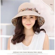 Mũ (Nón) đi biển thời trang chất liệu vải gấp gọn tiện dụng