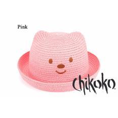 Mũ Gấu Xinh Cho Bé Yêu Chikoko (hồng)