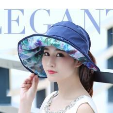 Mũ, Nón đi Du Lịch, chống nắng tiện dụng ĐL01 (Xanh)