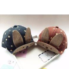 Mũ,nón tai thỏ cực dễ thương cho bé trai và bé gái K59 (Xanh)