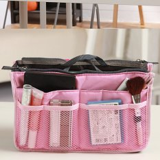Đánh Giá Multiple Compartment Picnic Travel Organizer Storage Bag (Pink) – intl   Taopanda