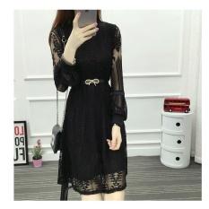 New Korean Style Lace Bodycon Dresses Plus Size Dress – intl
