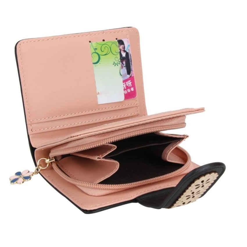 Hot Discount New Korean Womenhort Pueather Cutch Wasetace Fora Card Source · New Korean Womenhort Pueather