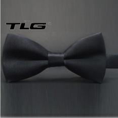 Nơ Đeo Cổ Nam TLG 247 10 (Đen) tặng 01 bút bi cao cấp TLG K 410