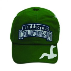 Nón lưỡi trai trẻ em Holister California Julie Caps (Xanh Lá)