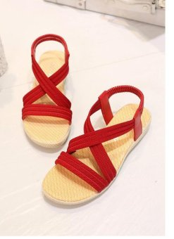 OJ Flat fish-mouth sandals, pure color elastic sandals - intl - 8478289 , OE680FAAA9A0POVNAMZ-18398778 , 224_OE680FAAA9A0POVNAMZ-18398778 , 617760 , OJ-Flat-fish-mouth-sandals-pure-color-elastic-sandals-intl-224_OE680FAAA9A0POVNAMZ-18398778 , lazada.vn , OJ Flat fish-mouth sandals, pure color elastic sandals - in
