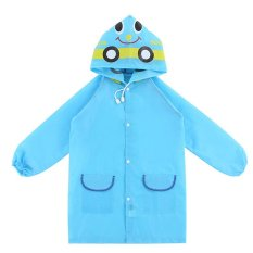 PAlight Kids Cartoon Waterproof Rain Coat (blue) – intl