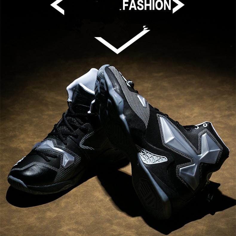 Cá tính Cặp Đôi giày bóng rổ Thời Trang thoải mái Xu Hướng trẻ Đèn thở tự do giày Thể Thao ngoài trời-quốc tế