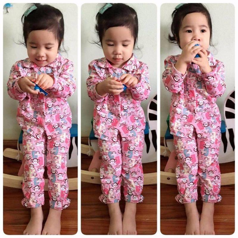 Nơi bán Pijama dài tay bé gái 1 đến 3 tuổi