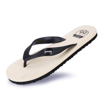 PINSV Men Casual Flip-Flops (Black) - intl
