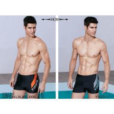 Quần bơi Yingfa đen Y3023-2 (vát cam)