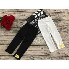 Quần cotton ôm trắng đen cho bé trai từ 1 tuổi đến 10 tuổi