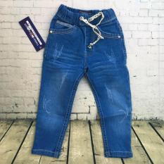 Quần dài jeans mềm lưng thun rút từ 8kg đến 22kg – QT230