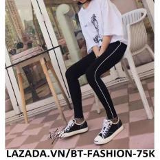 Quần Dài Thun Thể Thao Nữ Legging Thời Trang – BT Fashion QTT003