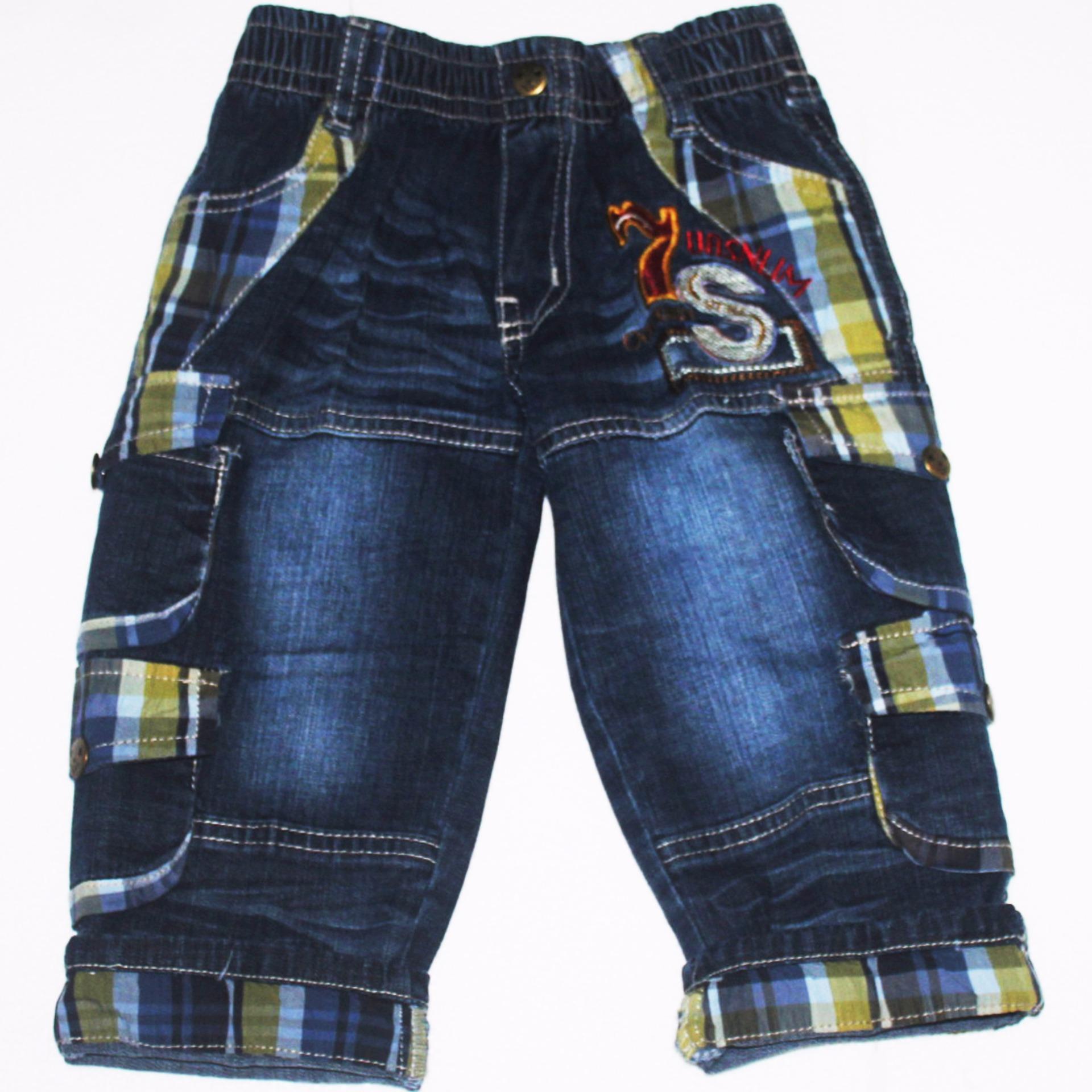 Quần jean dài bé trai 14-29KG từ 1 đến 8 tuổi TRI LAN QDBT010
