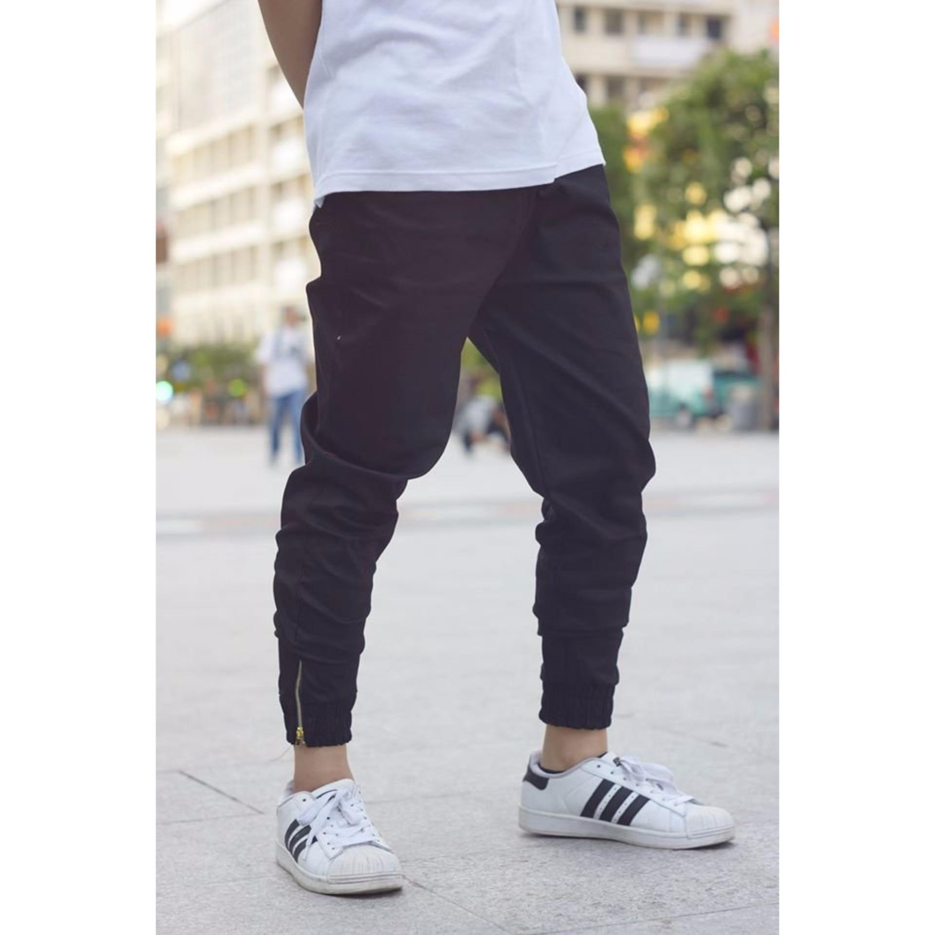 Quần Jogger Kaki – TL Fashion (Đen)