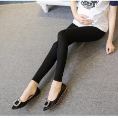 Quần legging bầu QB607 ( đen)