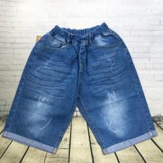 Quần lửng jeans lật lai lưng thun size cồ từ 38kg đến 65kg – QT235