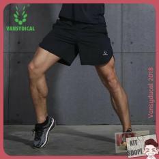 Tư vấn mua Quần short đùi thể thao nam Vansydical Xẻ – Hàng nhập khẩu (đồ tập quần áo gym, thể dục,thể hình, yoga) KIT Sport