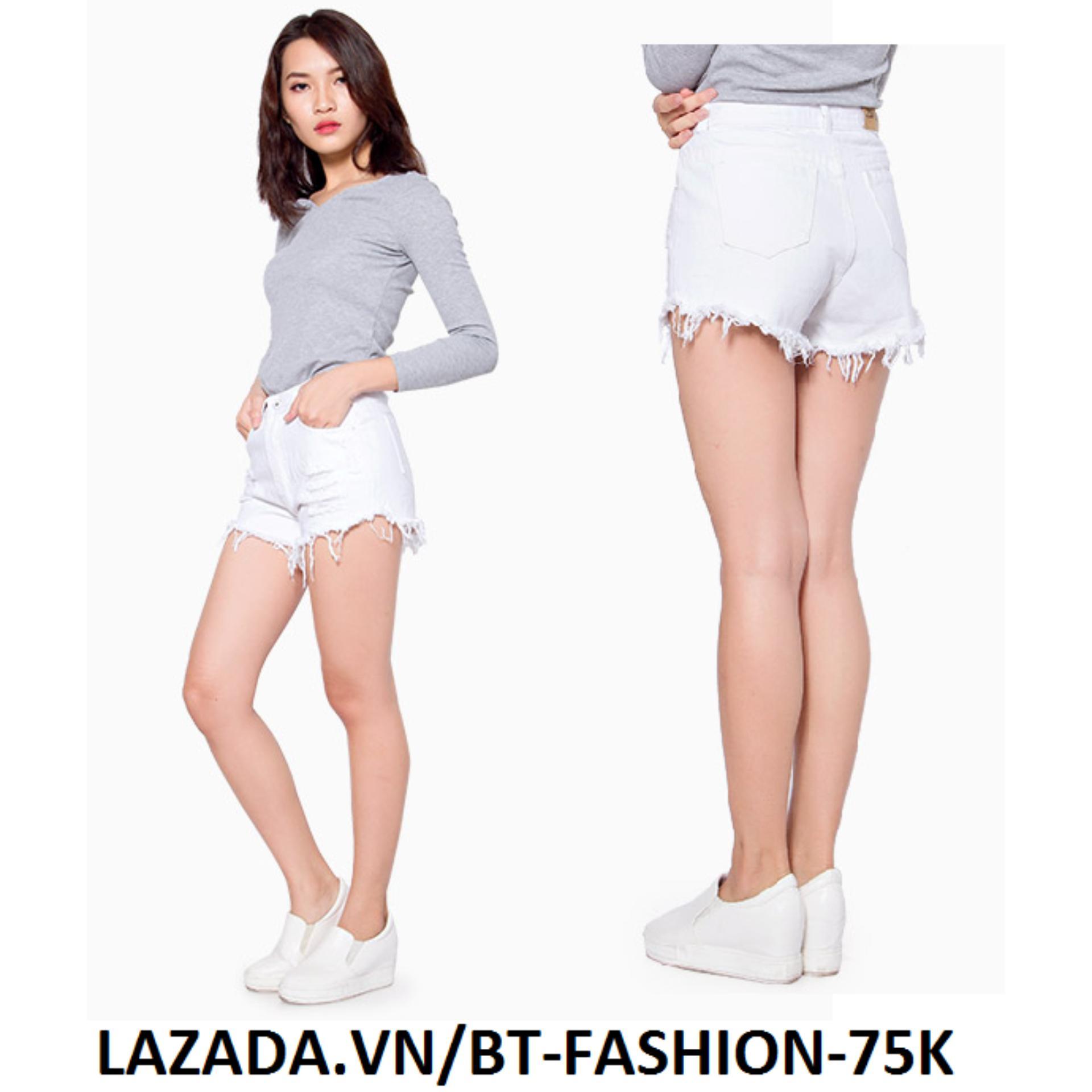 Quần Sọt Đùi (Short) Kaki Lưng Cao Thời Trang - BT Fashion