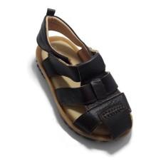 Sandal Da Bò Cho Bé Trai (Nâu)