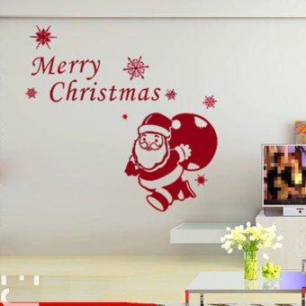 Santa Backpack Sticker (Intl)()(OVERSEAS) - intl