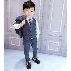 Set bộ quần áo vest bé trai korea Hàn quốc