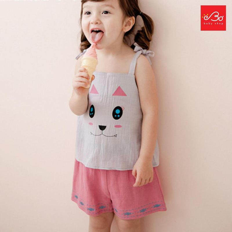 Nơi bán Set đồ bé gái thỏ con xuất Hàn 100