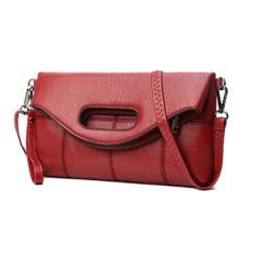 Túi Clutch Gập Luxury LX5 (Đỏ)