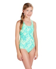 Speedo Beach Swimwear- Đồ bơi nữ 1 mảnh 8-07386B513 Space Rock Allover Splashback(Xanh) – Authorized By Brand