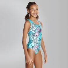 Speedo Beach Swimwear-Đồ bơi nữ 8-07386B850 8-07386B850 Tribe Idol Allover Splashback Green (Xanh ngọc) – Authorized By Brand