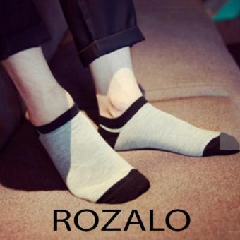 Tất vớ thoáng khí Rozalo R1008XD - Xám Đen